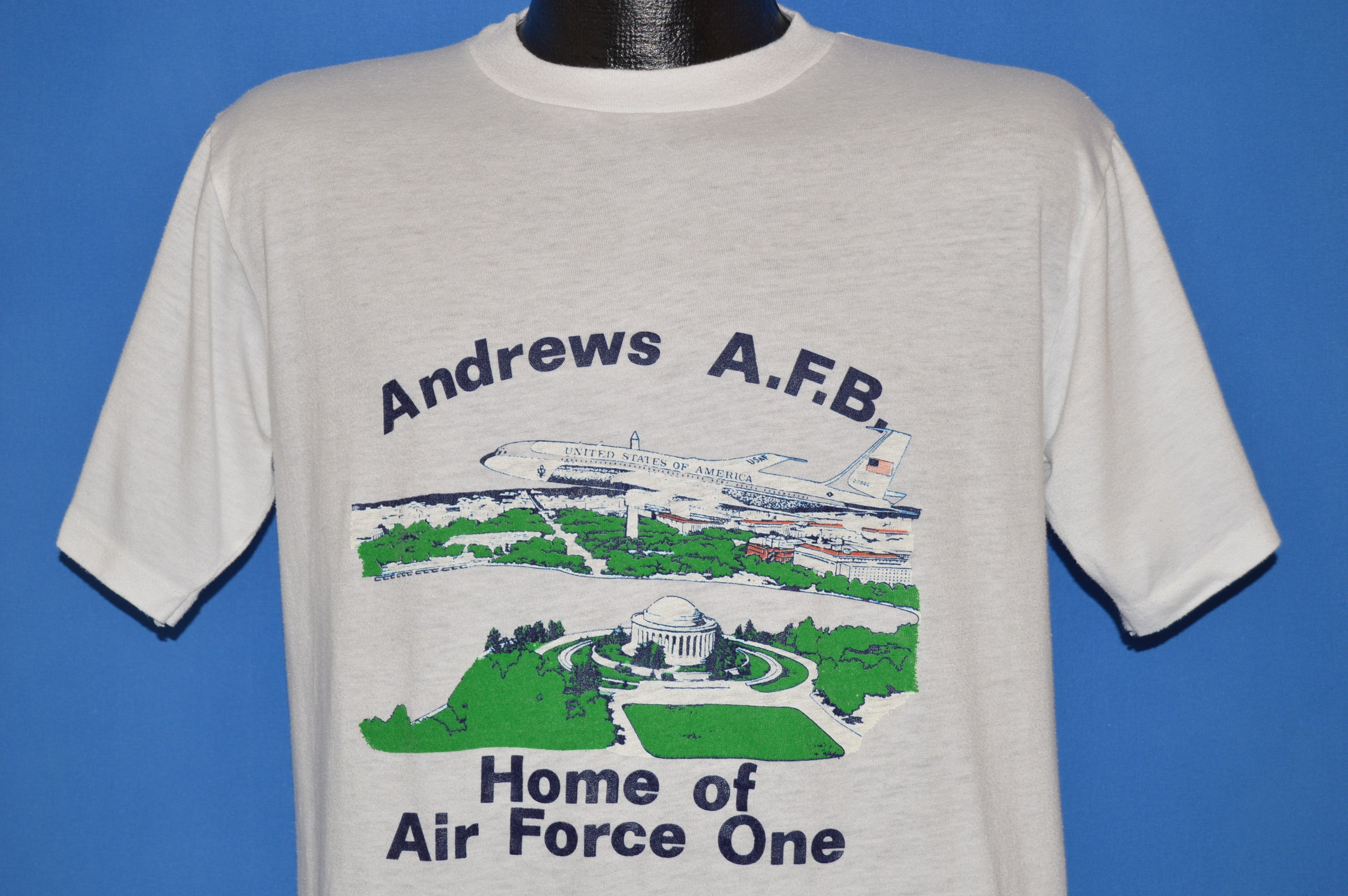 9dc8cea3 80s Andrews Air Force Base Maryland t-shirt Medium - The Captains ...