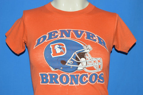 80s Denver Broncos Helmet Logo t-shirt Youth Medium