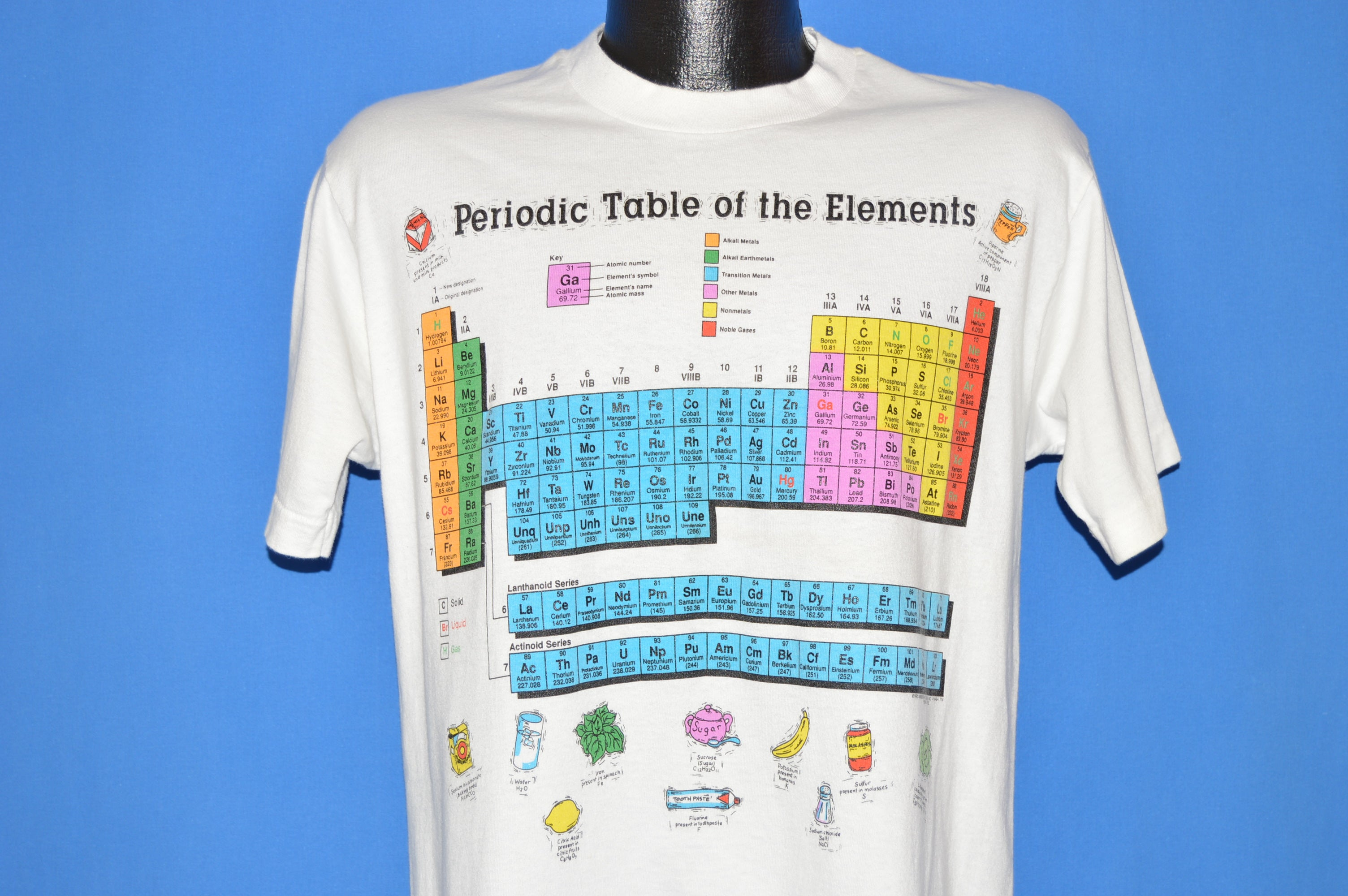 90s periodic table of elements science t shirt medium the captains 90s periodic table of elements science t shirt medium urtaz Image collections