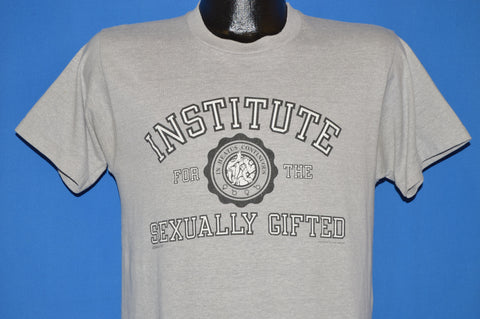80s Institute for the Sexually Gifted t-shirt Medium