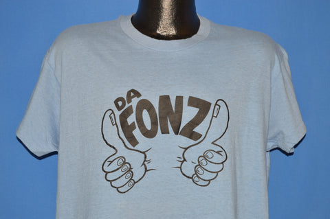 70s Da Fonz Two Thumbs Up Happy Days t-shirt Large