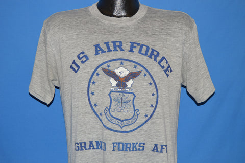 80s US Air Force Grand Forks Air Force Bacse t-shirt Medium