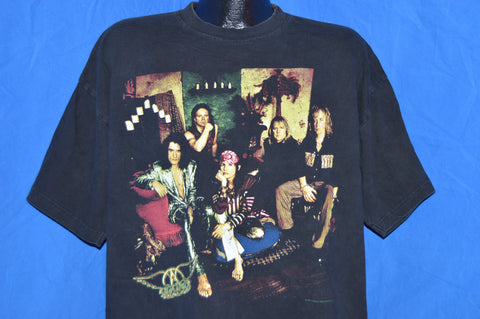 90s Aerosmith Nine Lives American Tour Rock t-shirt Extra-Large