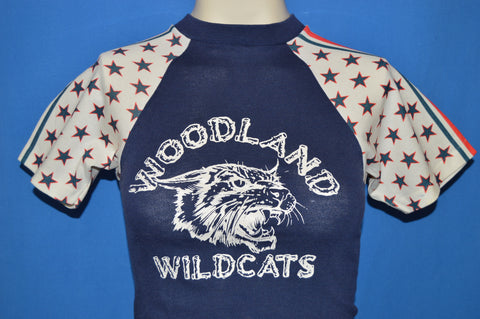 70s Woodland Wildcats Stars & Stripes t-shirt Youth Medium