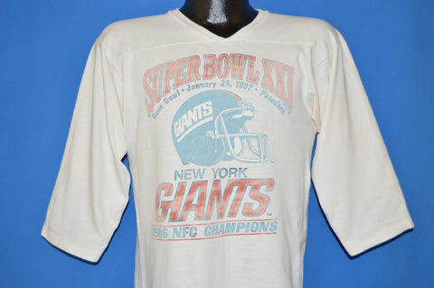 80s New York Giants Super Bowl 1987 t-shirt Medium