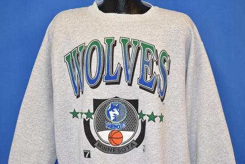 90s Minnesota Timberwolves NBA Sweatshirt Extra Large
