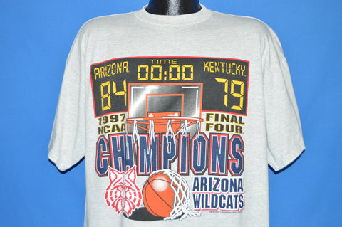 90s Arizona Wildcats NCAA Champs 1997 t-shirt Extra Large