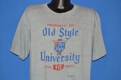 80s Old Style Beer University t-shirt Extra Large