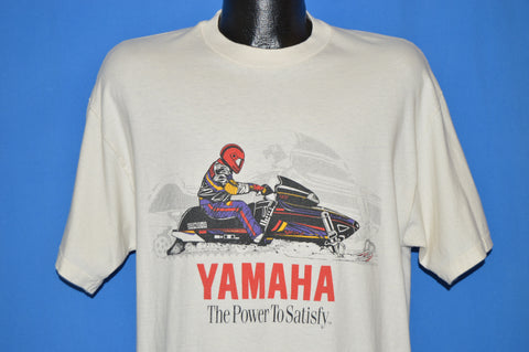 90s Yamaha Snowmobile Power To Satisfy t-shirt Large