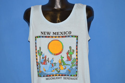 80s New Mexico Moonlight Serenade Tank Top t-shirt Extra Large