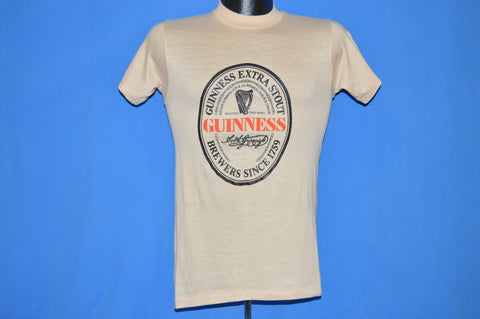 80s Guinness Beer t-shirt Extra Small
