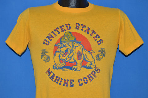 80s United States Marine Corps Bulldog t-shirt Small