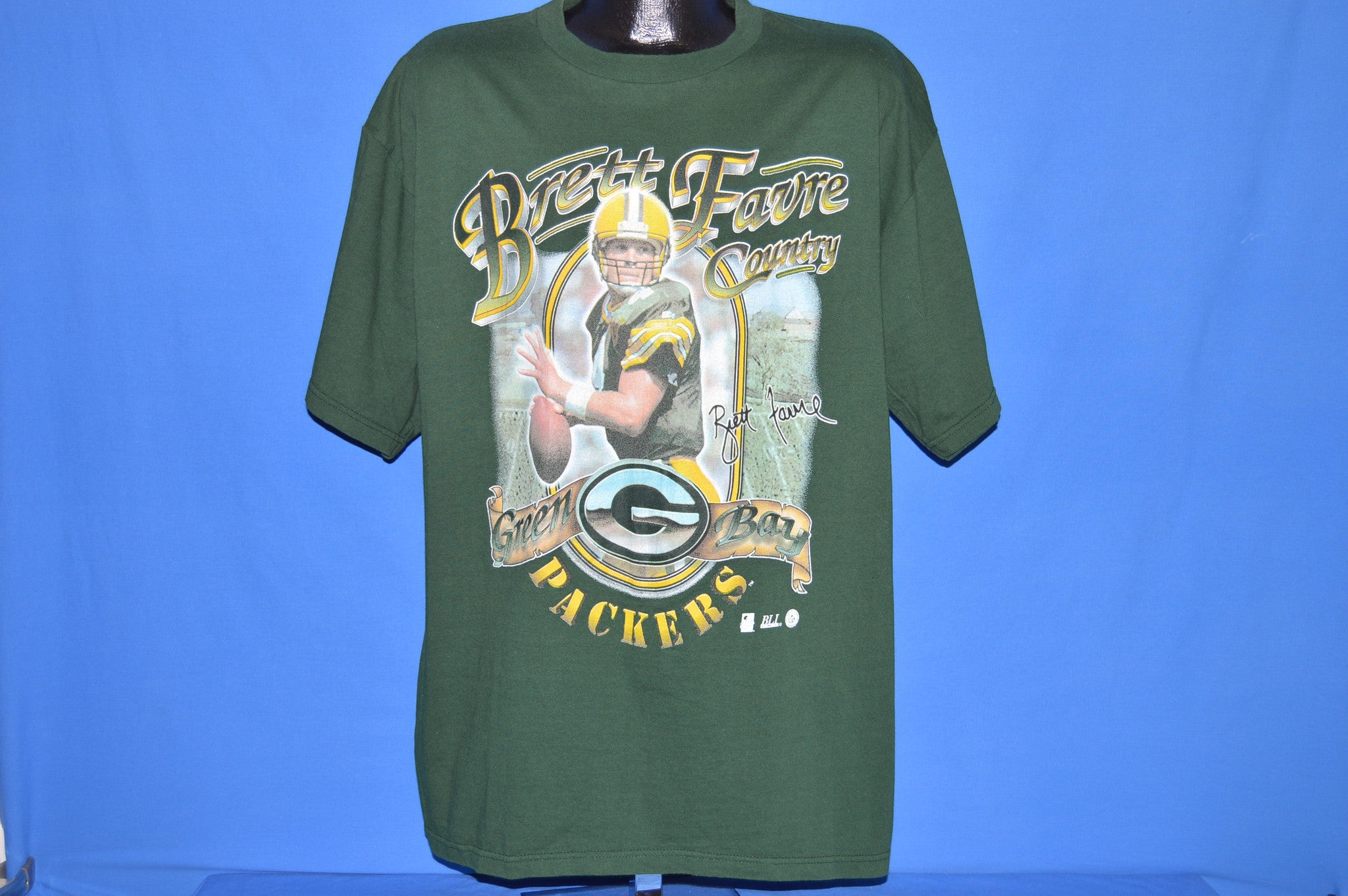 promo code 09349 79691 90s Green Bay Packers Brett Favre t-shirt Extra Large - The ...