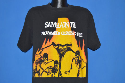 90s Samhain III November Coming Fire Danzig t-shirt Extra Large