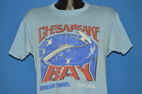 80s Virginia Chesapeake Bay Bridge Tunnel t-shirt Medium