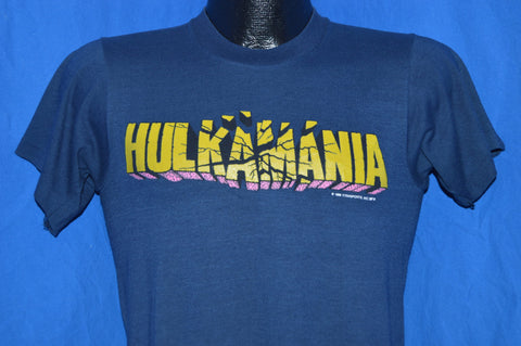 80s Hulkamania WWF Wrestling t-shirt Small
