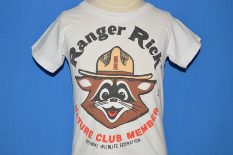 70s Ranger Rick Nature Club Member t-shirt Youth Small