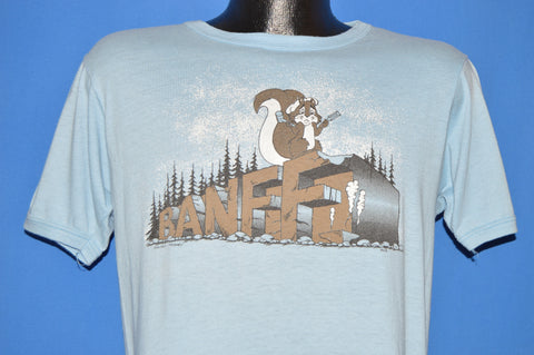 80s Banff Canada Alberta Squirrel t-shirt Medium