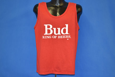 80s Bud King Of Beers Tank Top t-shirt Large