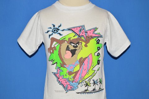 80s Tasmanian Devil Easy Surf Neon t-shirt Youth Medium