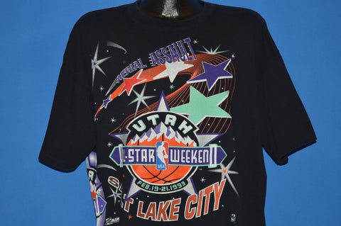 90s Utah NBA All Star Weekend 1993 t-shirt Extra Large