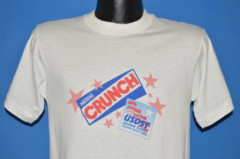 90s Nestle Crunch Bar USDST t-shirt Medium