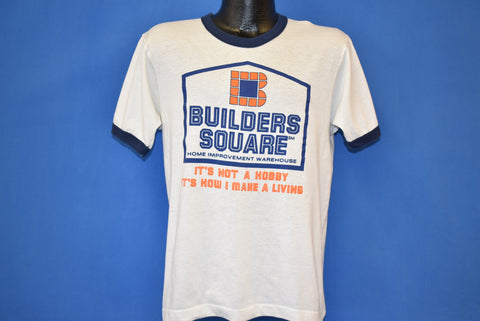 80s Builders Square Home Improvement Ringer t-shirt Medium