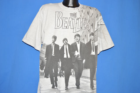 90s The Beatles 8 Days A Week All Over Print t-shirt Extra Large