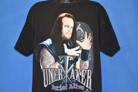 90s The Undertaker Buried Alive WWF t-shirt Extra Large