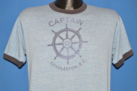 80s Captain Charleston South Carolina t-shirt Medium