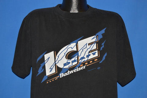 90s Bud Ice Budweiser Draft Beer t-shirt Extra Large