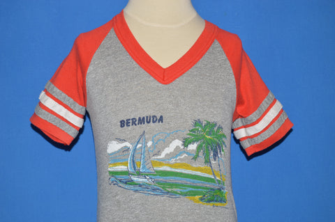 80s Bermuda Sailboat Tourist t-shirt Youth Small