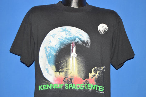 80s Kennedy Space Center Shuttle Launch t-shirt Large