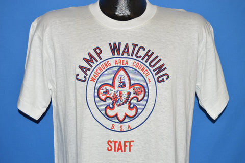 50s Boy Scouts Camp Watchung Staff Deadstock t-shirt Large