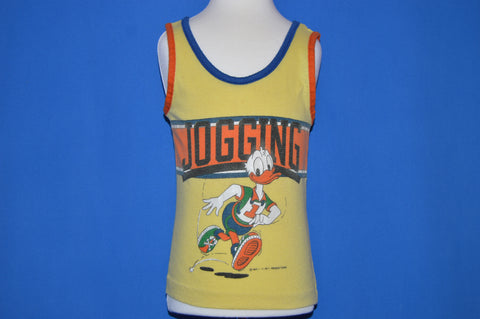80s Donald Duck Jogging Tank Top t-shirt Toddler 2T