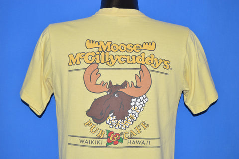 80s Moose McGillycuddy's Pub Cafe Hawaii t-shirt Small