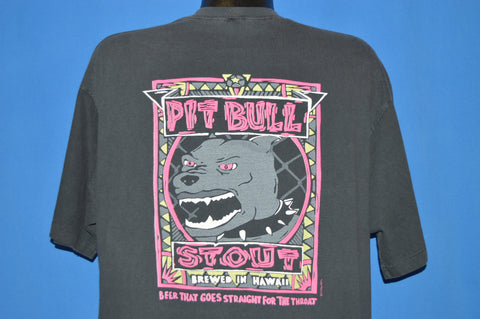 80s Pit Bull Stout Beer t-shirt Extra Large