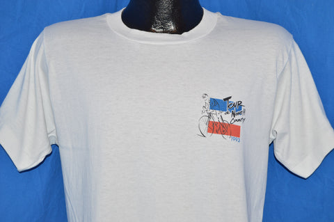 1993 Tour de North Country Bicycle Bike Race t-shirt Medium