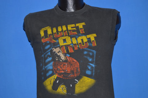 80s Quiet Riot Metal Health Tour 1984 Sleeveless t-shirt Small
