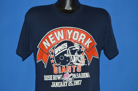 80s New York Giants Super Bowl XXI 1986 t-shirt Medium