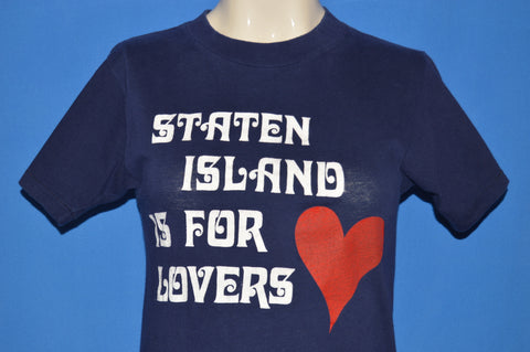 80s Staten Island Is For Lovers Tourist t-shirt Extra Small