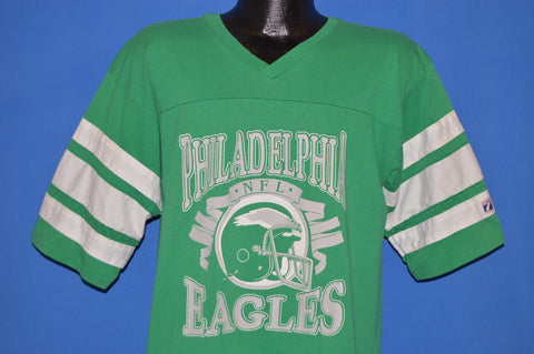 80s Philadelphia Eagles jersey t-shirt Large