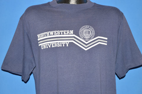 80s Northwestern University College Seal t-shirt Extra Large
