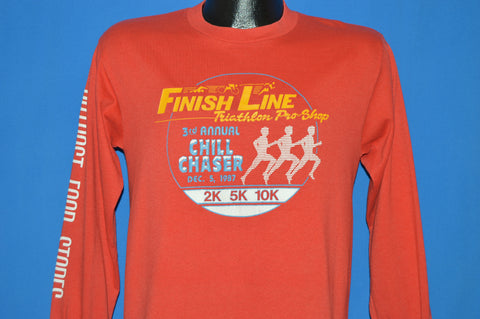 80s Finish Line Chill Chaser 1987 Run t-shirt Medium