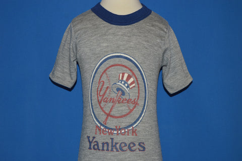80s New York Yankees Baseball Ringer Toddler t-shirt 2T