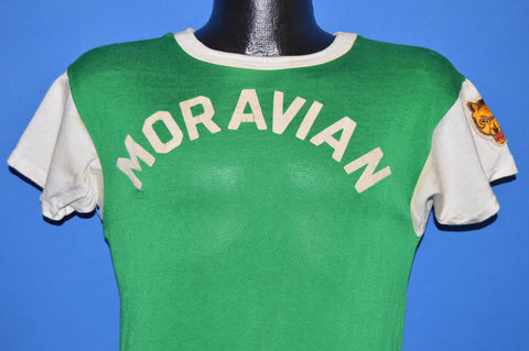 60s Moravian #3 Green Jersey t-shirt Small