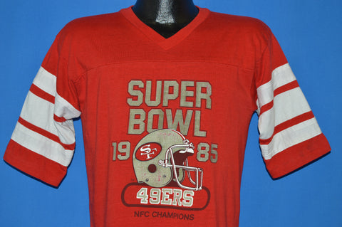 80s San Francisco 49ers 1985 NFC Champs t-shirt Medium
