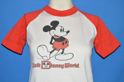 80s Walt Disney World Mickey Mouse t-shirt Youth Large