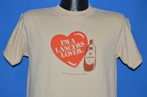 80s I'm A Lancers Lover Imported Wine t-shirt Medium