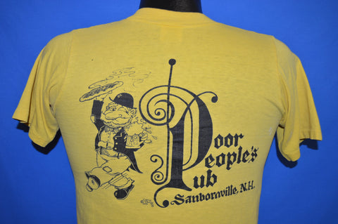 70s Poor People's Pub Sanbornville t-shirt Small
